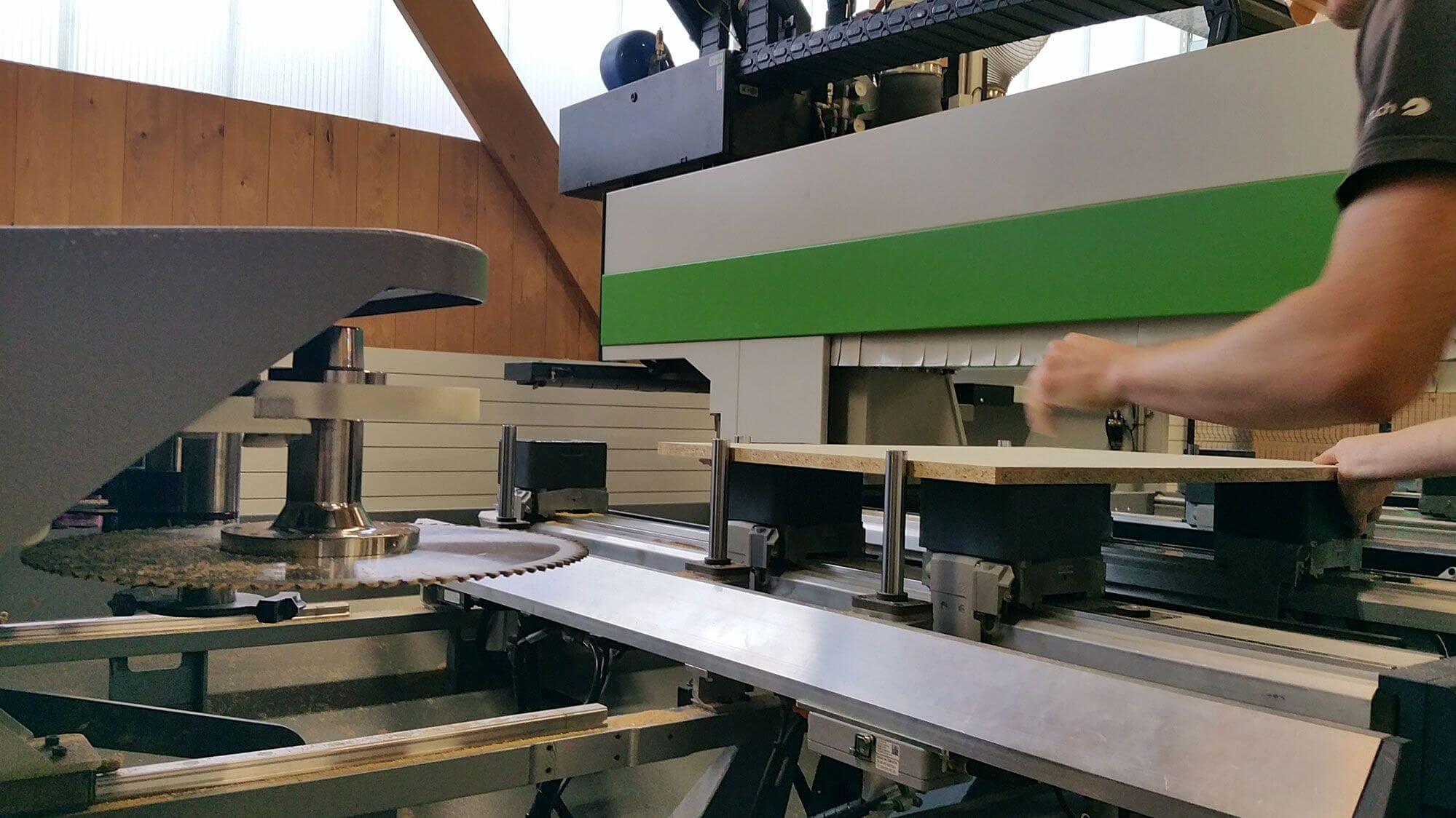 Eilinger Holz CNC-Bearbeitung
