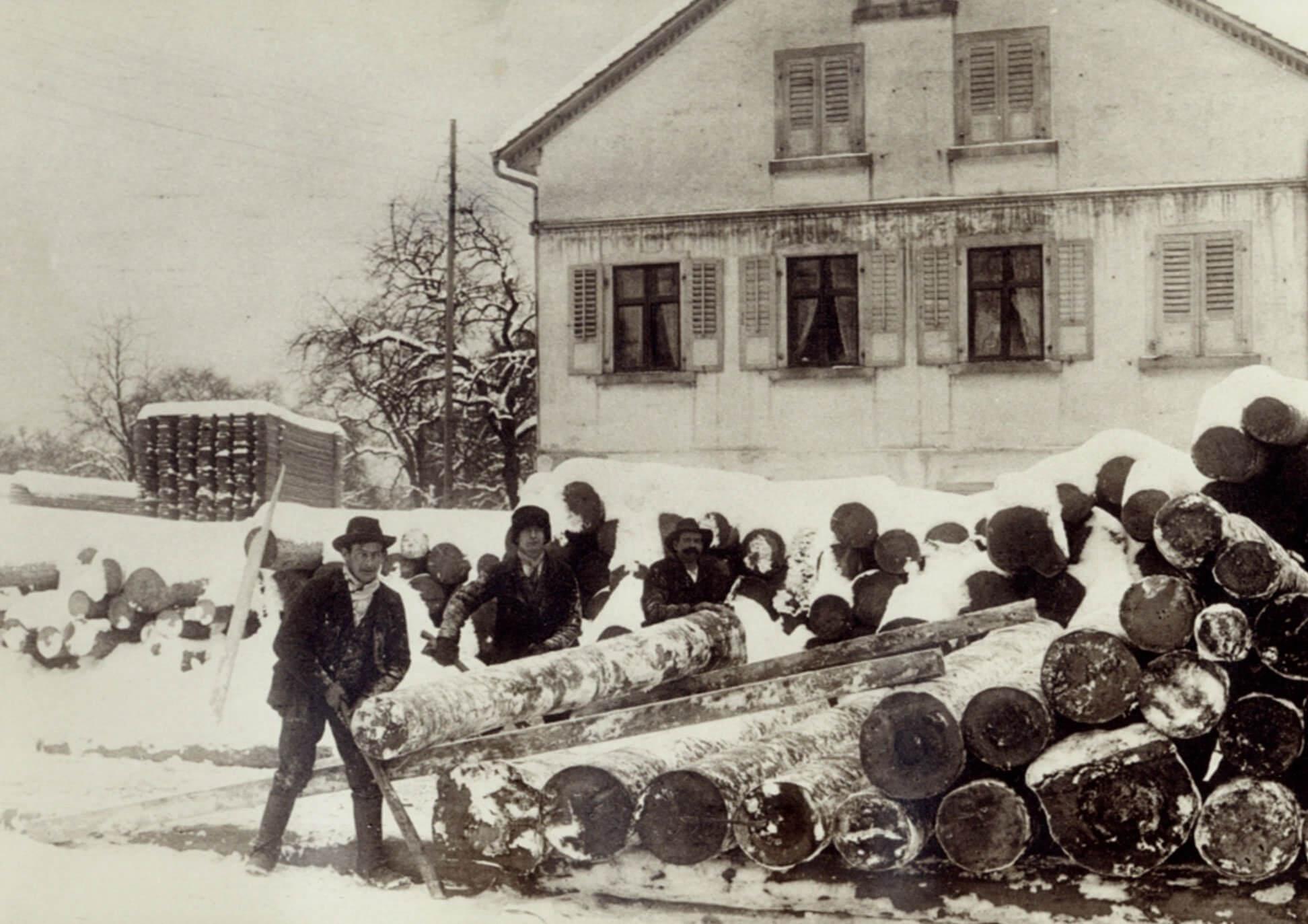 Eilinger Holz Goldach 1951